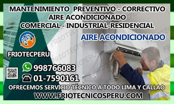 Instalacion- mantenimiento de aire acondicionado (7590161) en villa el salvador