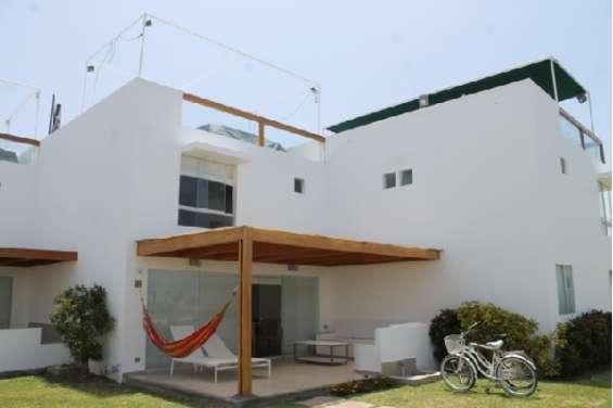 Casa de playa de 174.10m2 con vista al mar en asia - cañete