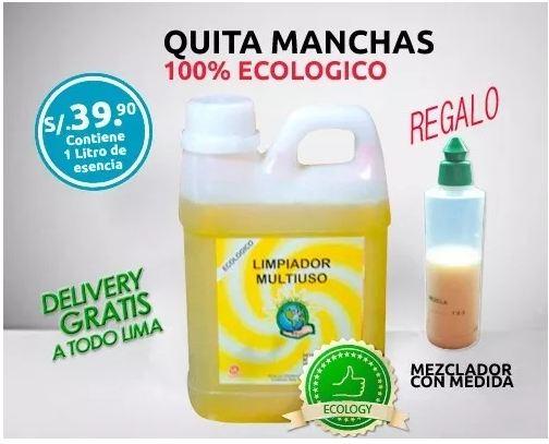 Ecología y limpieza perú - productos ecológicos de limpieza e higiene