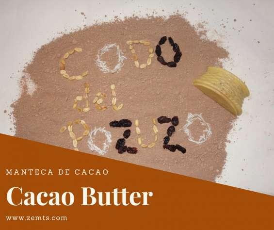 Manteca de cacao 100% natural
