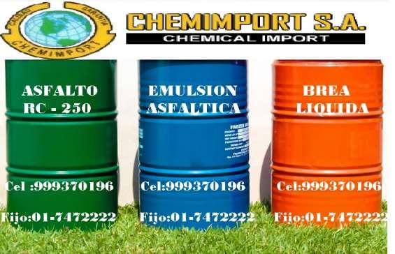 Se vende asfalto rc -250 por mayor y menor llame al 999370196