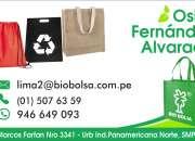 Publicidad ecologica-bolsas y mochilas en notex