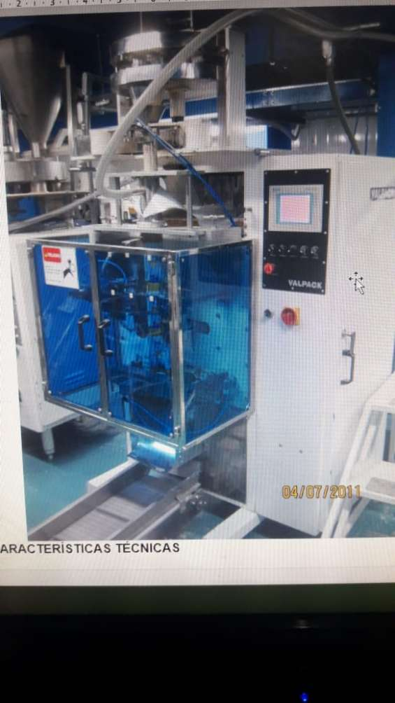 Envasadoras verticales automaticas dosificadoras