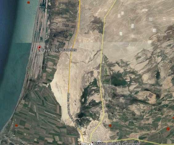 Vrndo terrenos playa chinca