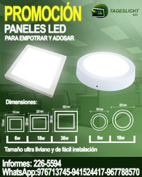 Excelente oferta¡ panel led blanco frio 36 watts