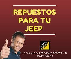 Repuestos para tu camioneta jeep