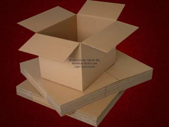 Cajas de carton corrugado, envios a todo el peru