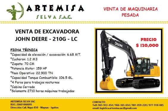 Venta de ocasión de excavadora john deere - 210g - lc