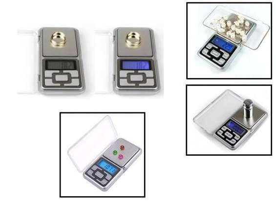 Fotos de Balanza gramera digital de bolsillo 0.01gr 2 decimales joyas oro lcd + pilas 2