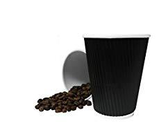 Vasos corrugados para cafe