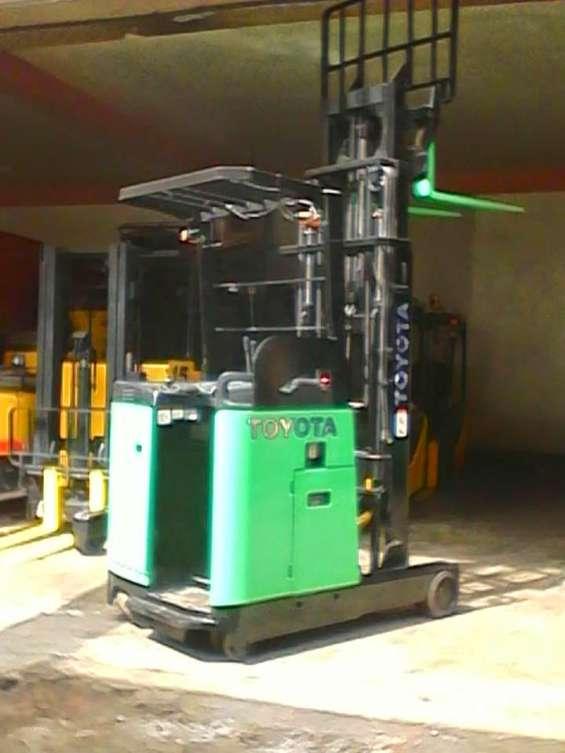 Mantenimiento de montacargas y apiladores electricos