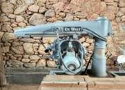 Sierra de brazo radial DeWalt c/ motor 5HP trifásico y cuchilla de 16