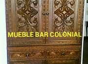 Bargueños  exclusivos Tallados coloniales. lima Perú