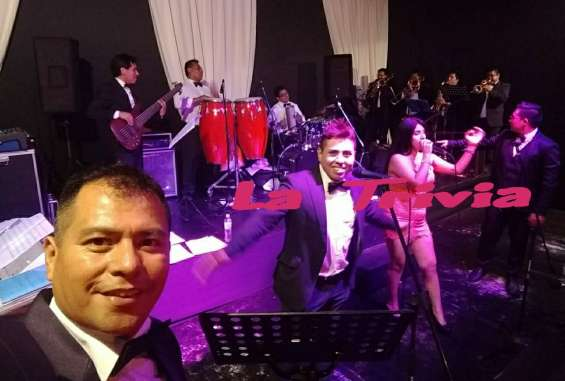 Orquesta shows matrimonios grupo musical para bodas de lima perú la trivia