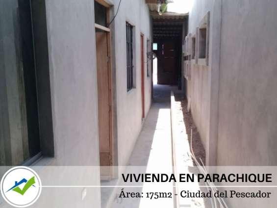 Vivienda + terreno - parachique, sechura