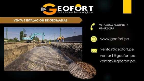 Venta de geomalla - geofort