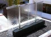 panel de burbujas, rebose de acero para piscina.
