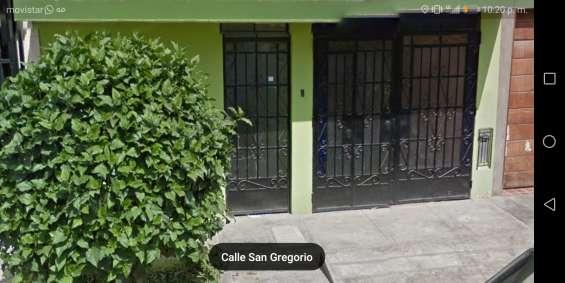 Anticresis o venta de casa en urbanización san diego distrito de san martin de porres