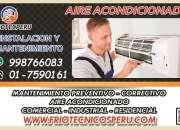 Técnicos de aire acondicionado splip-servicio tecnico 7590161 en barranco