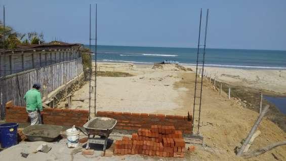 Vendo terreno en playa punta sal