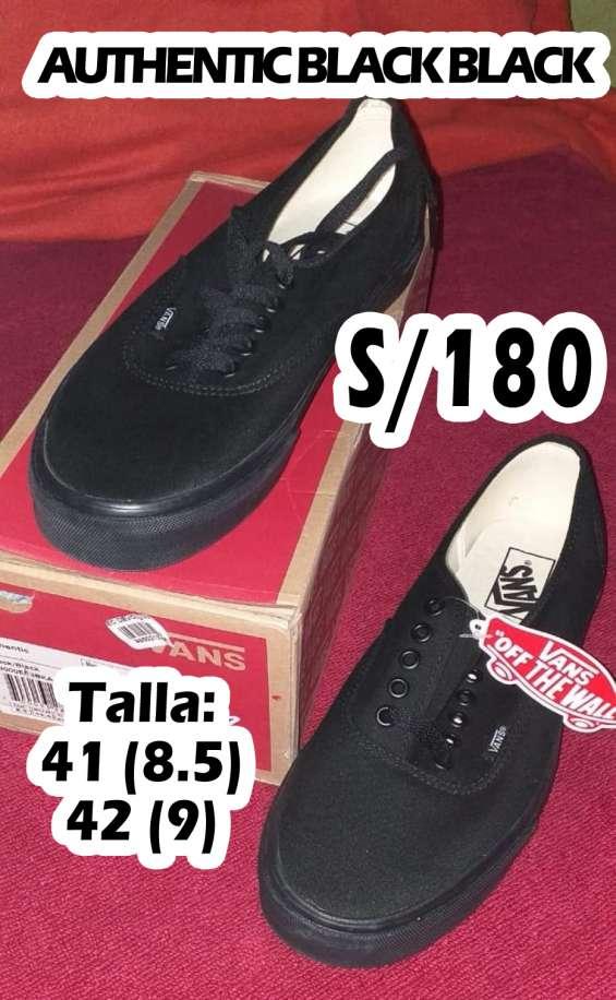 Vans authentic black s/180