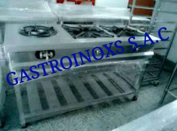 Chiferas wok alta potencia industrial