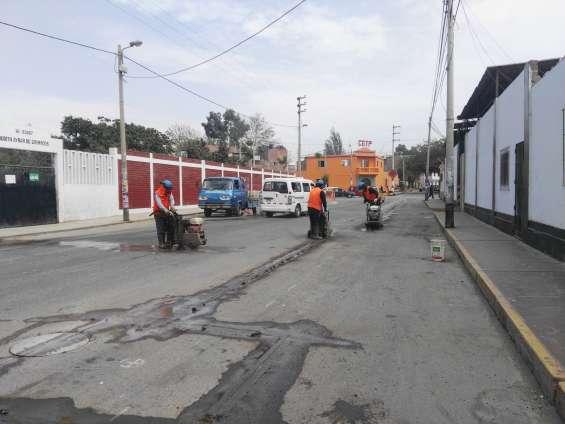 Servicio alquiler de maquina maquinquina cortadora de concreto