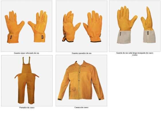Sicher: especializada en artículos de seguridad industrial a base de cuero.