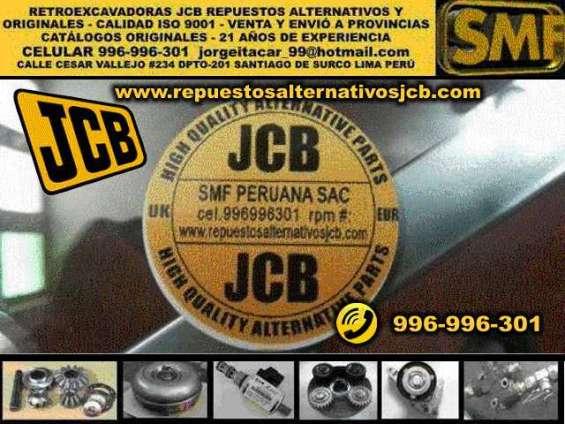Jcb retroexcavadora iso 9001 repuestos lima perù originales y alternativos