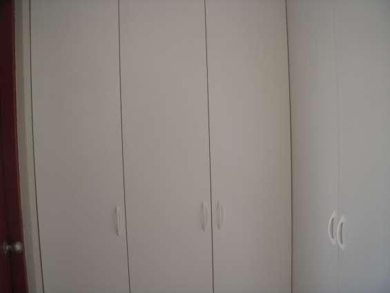 Closets completo en melamine en habitaciones