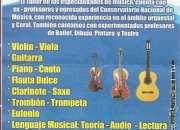 clases de guitarra ,bajo y órgano