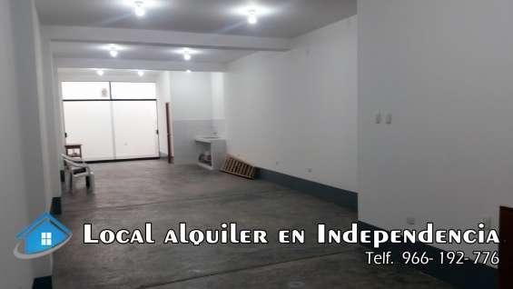 Local alquiler en independencia