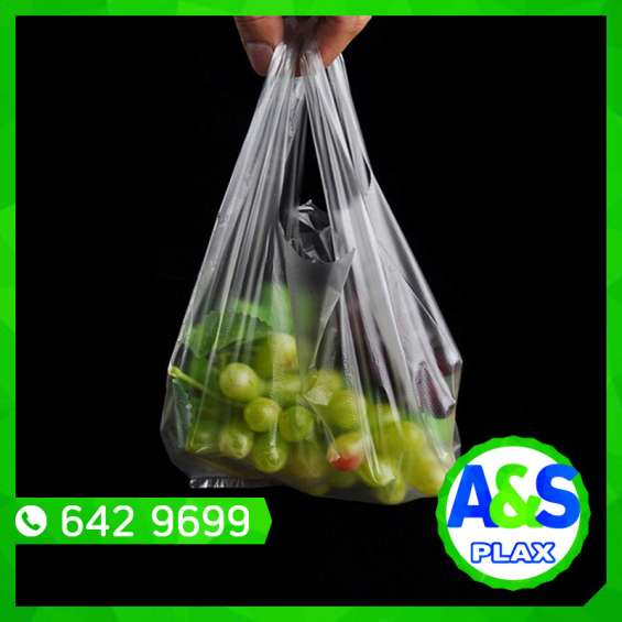 Bolsas con asa camiseta - a&s plax