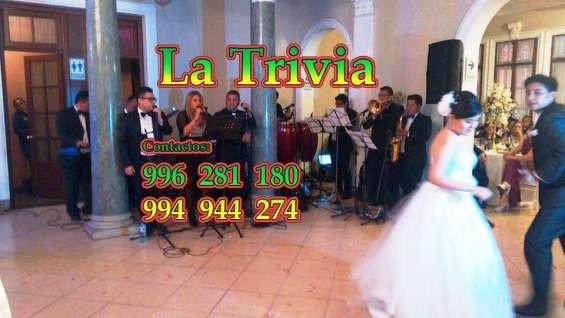 Fotos de Orquesta fiestas matrimonios la trivia musica variada en vivo 8