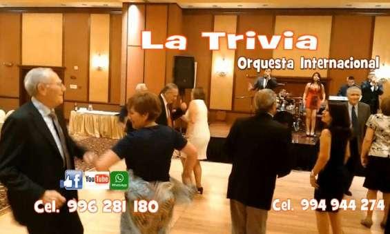 Fotos de Orquesta fiestas matrimonios la trivia musica variada en vivo 5