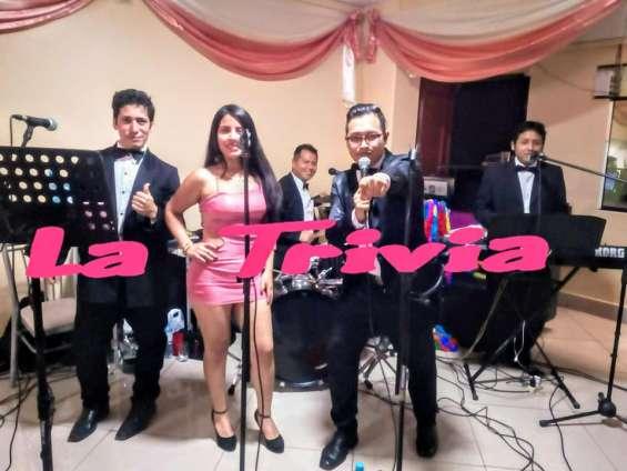 Fotos de Orquesta fiestas matrimonios la trivia musica variada en vivo 2
