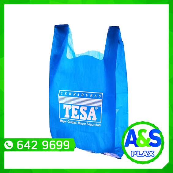Bolsas con asa t-shirt - a&s plax