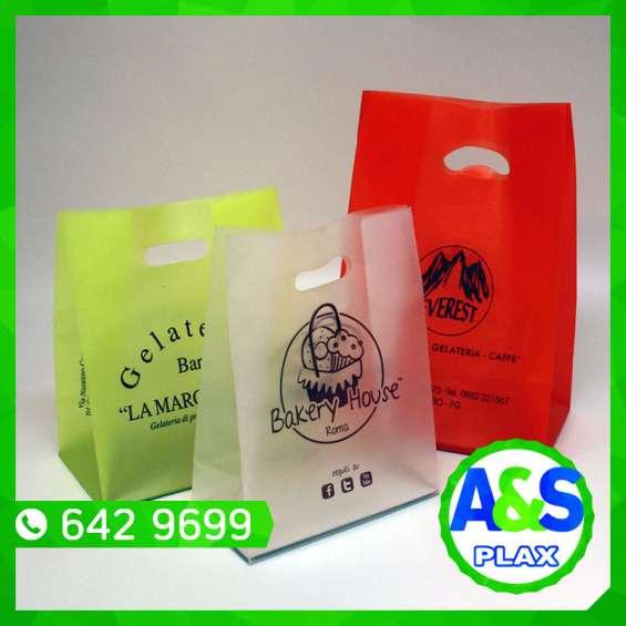 Bolsas con fuelles laterales biodegradables - a&s plax