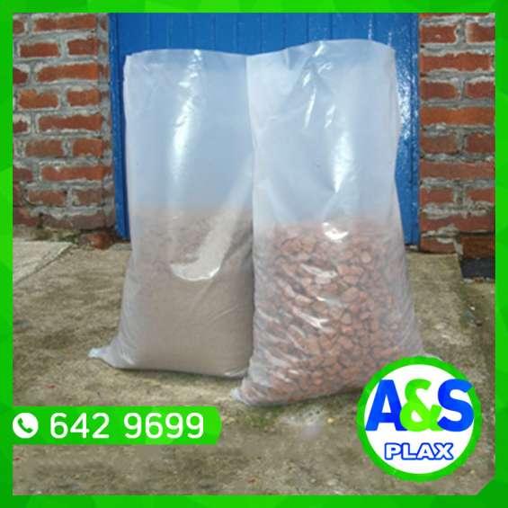 Bolsas gruesas biodegradables - a&s plax