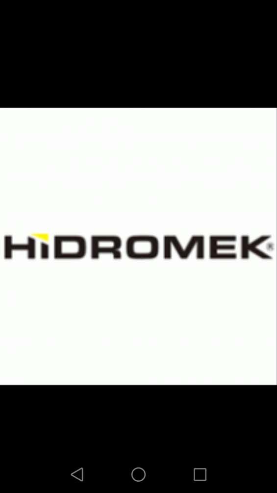 Hidromek retroexcavadoras repuestos iso 9001