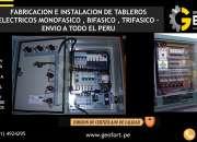 FABRICACION E INSTALACION DE TABLEROS ELECTRICOS CEL: 941967454