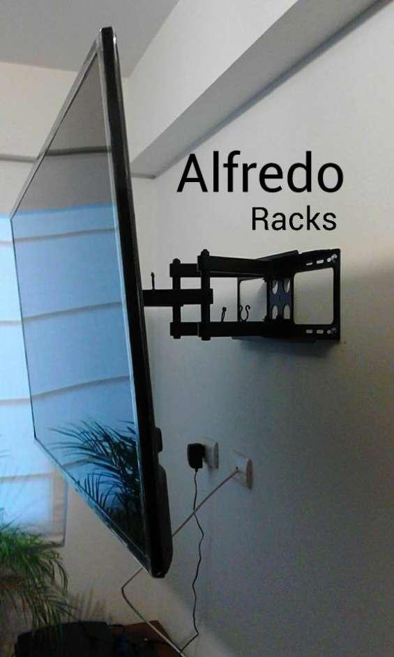 Instalacion de racks para tv en san luis lima