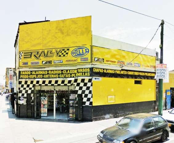 Vendo local comercial + aires. av. iquitos, a.t.195m2, esquina, $495,000- la victoria