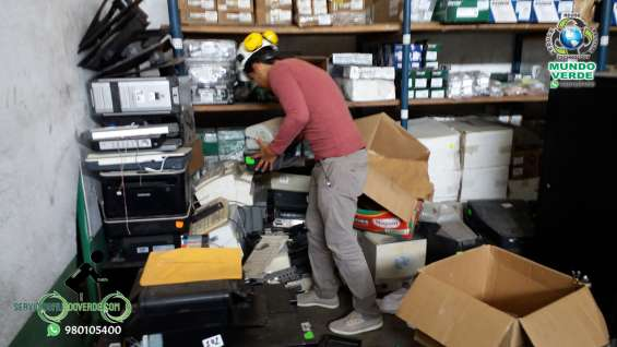 Compro reciclaje