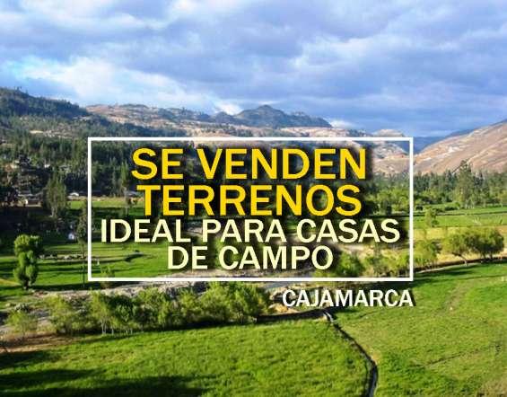 Ocasión: se remata terrenos a s/160 x m2 en baños del inca