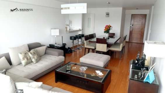 Vendo departamento 3 dorm. 135 m2 san isidro(644-y-r