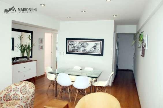 Vendo departamento 1er piso 3 dorm. magdalena (ref: 671)