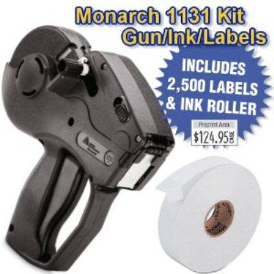 Etiquetadora manual portátil monarch 1131