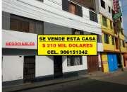 SE VENDE CASA EN SAN JUAN DE MIRAFLORES DE 232 M2