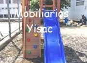 Modulos infantiles / juegos giratorios / laberintos peloteros